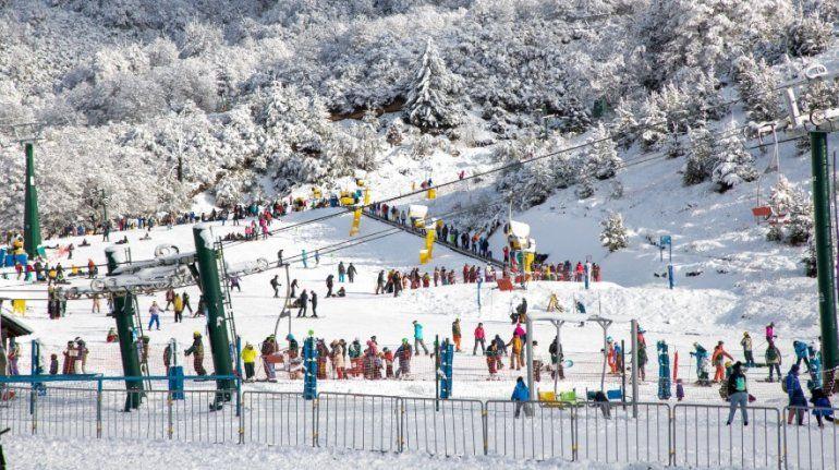 Bariloche como segundo destino en el país en invierno.