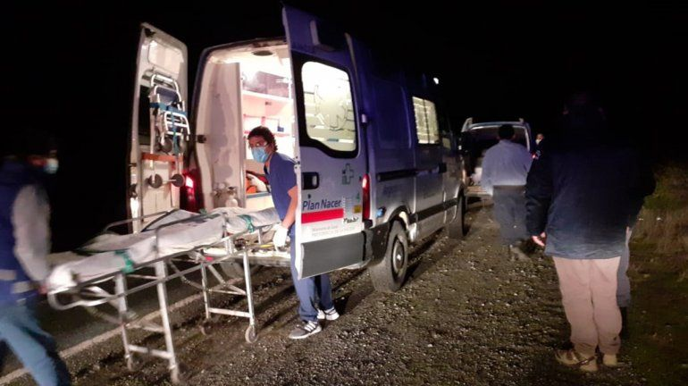 Efectivos salvaron la vida de un hombre cerca de El Bolsón