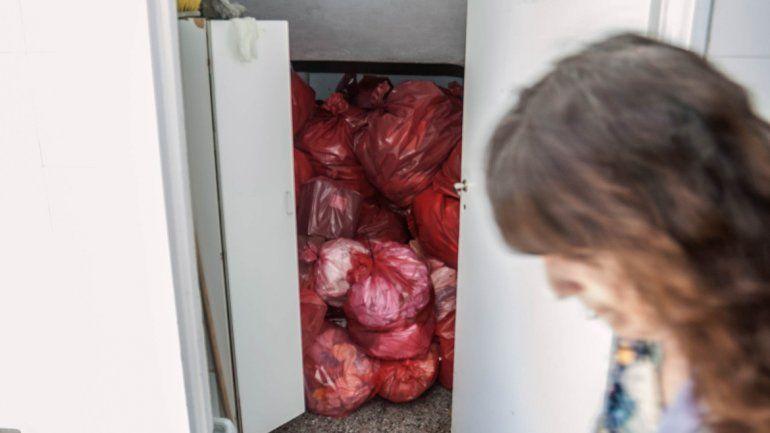 Centros de salud acumulan bolsas de residuos patológicos