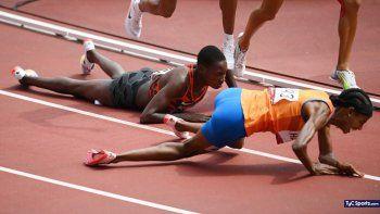 Se cayó y quedó última, pero ganó: milagrosa victoria en los Juegos