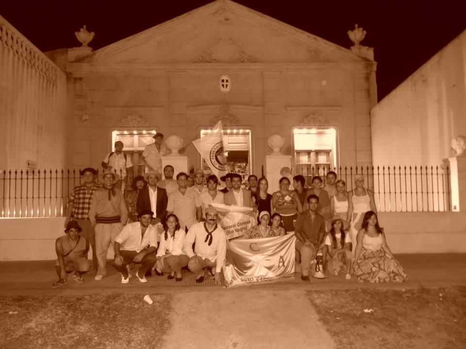 Jóvenes productores rionegrinos en encuentro de la Federación Agraria Argentina