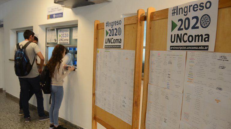 UNCo: el 44 por ciento abandonó materias con la pandemia