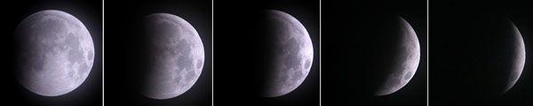Se concretó el eclipse total de Luna