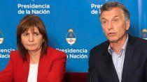 el gobierno denuncio a macri y a bullrich por envio de material represivo a bolivia