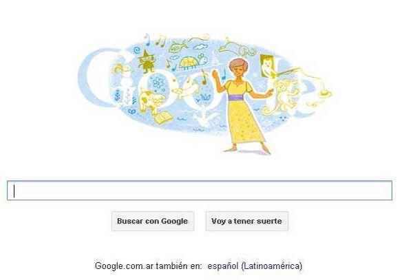 María Elena Walsh fue homenajeada por Google