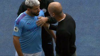 Agüero picó el penal del campeonato, se lo atajaron, estalló Guardiola ¡y perdieron!