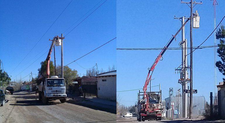 Edersa terminó importante obra para mejorar el servicio en Las Perlas