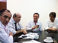 Encuentro entre Mendioroz y autoridades del Comité Nacional de la UCR