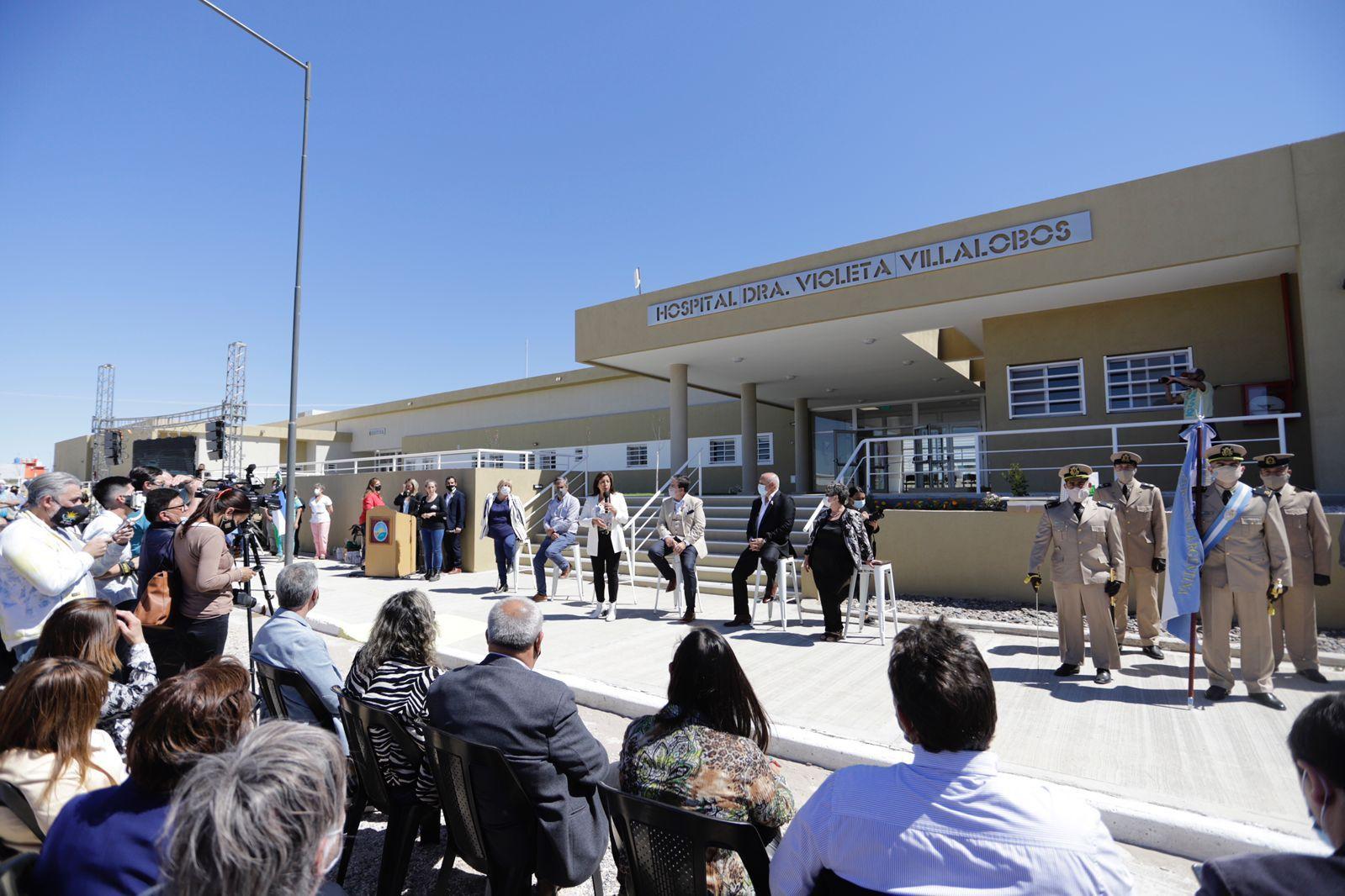 Se inauguró el nuevo hospital de Las Grutas
