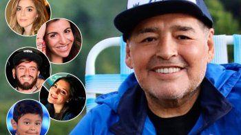 Bomba: revelan que Maradona tiene dos hijos en España