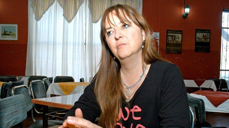 La senadora Magdalena Odarda dijo que acompañará a los chacareros.