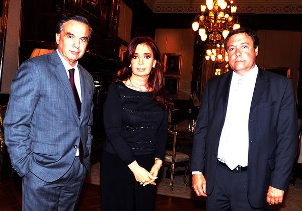 La Presidenta recibió en Casa Rosada al Gobernador Weretilneck