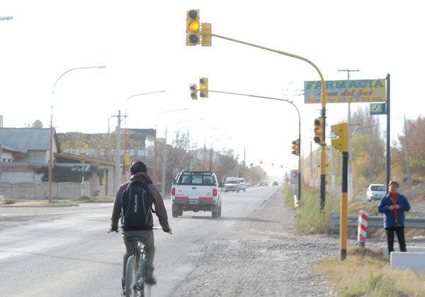 Fuera de servicio los semáforos de  Circunvalación