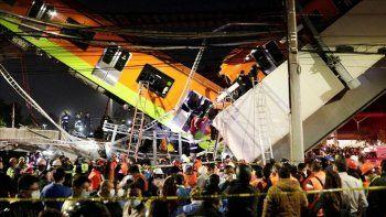tragedia ferroviaria en mexico: el colapso de un puente dejo 23 muertos