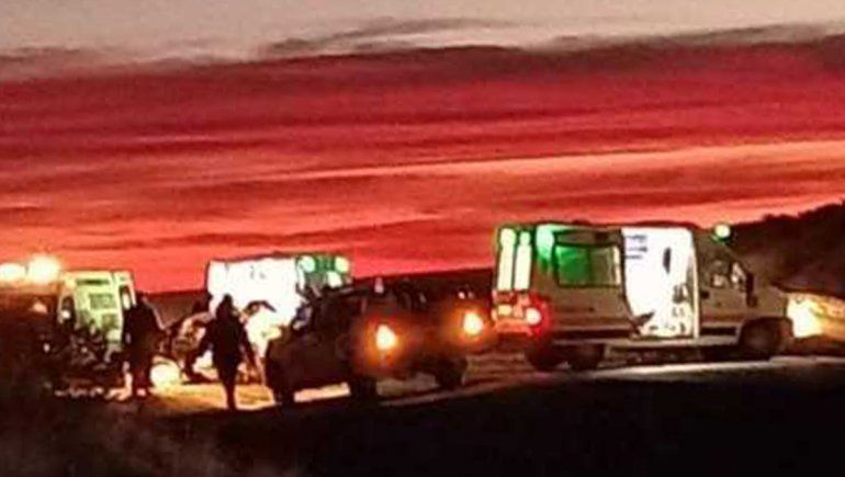 Tragedia: tres muertos en un brutal accidente sobre Ruta 151