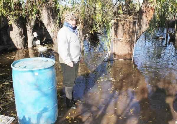Cede la crecida del río Neuquén y los damnificados reclaman ayuda