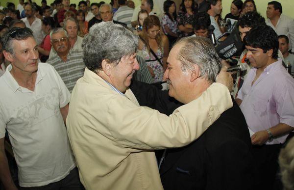 Reggioni asumió su segundo mandato en Fernández Oro