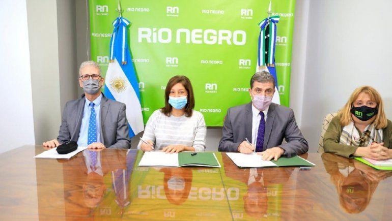 Provincia y el STJ firman convenio para llevar la mediación de conflictos a las escuelas