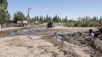 Desde Aguas Rionegrinas, se han impulsado tareas para mejorar la provisión del barrio Santa Elena (Foto archivo)
