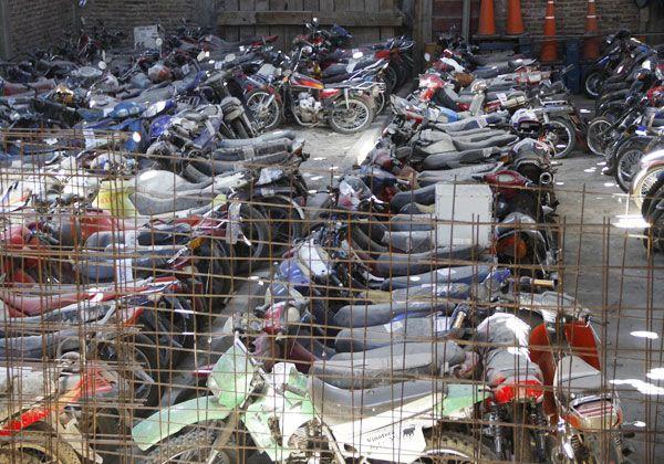 Secuestraron 9 motos en controles de tránsito