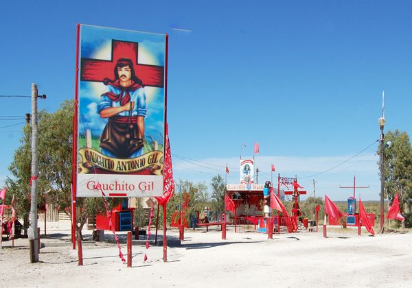 Nuevo homenaje patagónico  al Gauchito Gil
