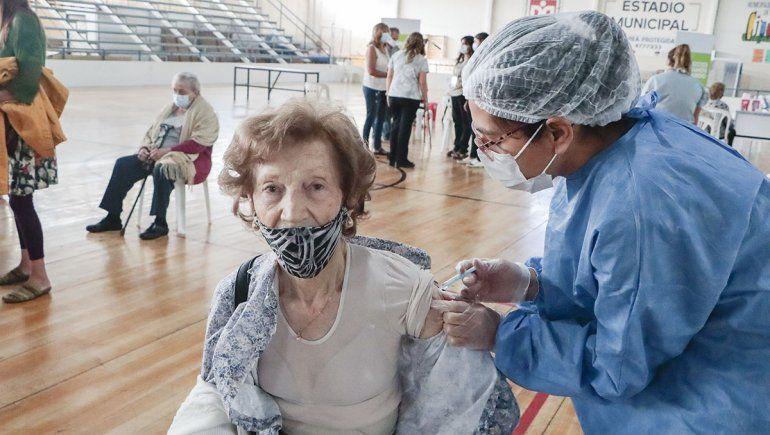 Río Negro ya vacunó al 17% de su población objetivo
