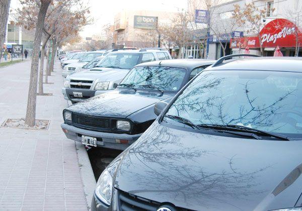 Controlaron más de 40 mil autos en el estacionamiento rotatorio