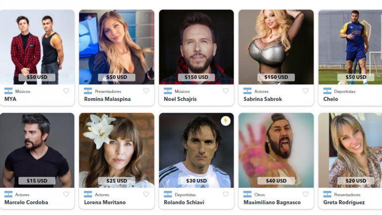 Polémica: los famosos ahora venden sus saludos en dólares