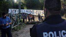 mapuches ocuparon un campo privado en el paraje el foyel