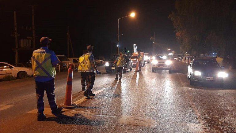 Más de una docena de borrachos cayeron en un control de alcoholemia