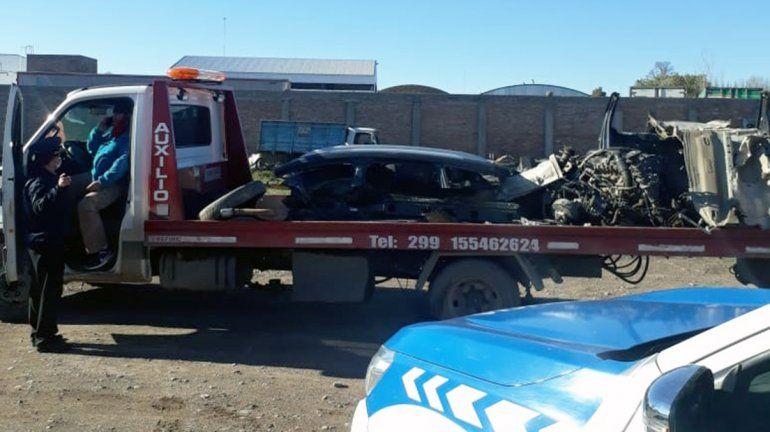 Víctima del desarmadero: Es un crimen lo que hicieron con mi camioneta