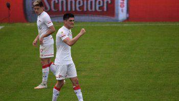 Mirá el nuevo gol del Tuti Del Prete, que pelea arriba con el Pincha