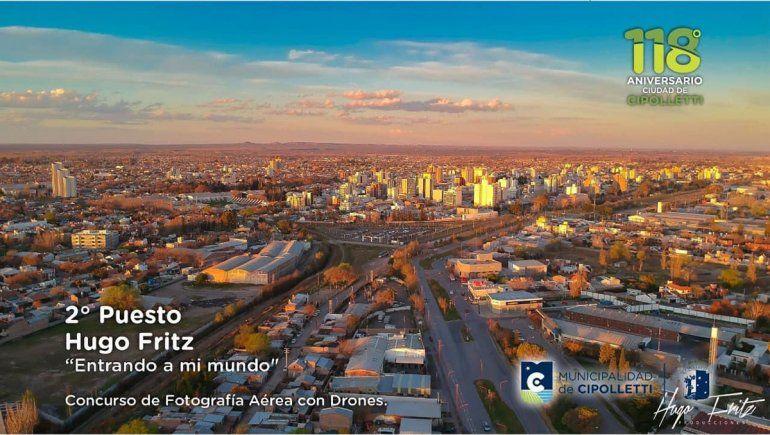 La increíble foto ganadora del concurso cipoleño de drones