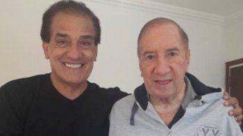 Miguel Ángel Lemme visitó a Bilardo y confesó que le preguntó por Maradona.