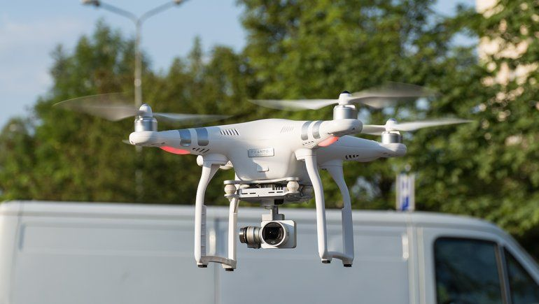 2 de Agosto: usaron un dron para acelerar la urbanización