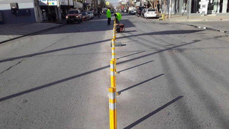 Insólito: el Municipio denunció el robo de carteles de señalización vial