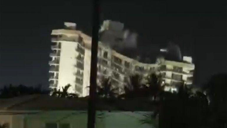 Derrumbe en Miami: demolieron lo que quedaba del edificio