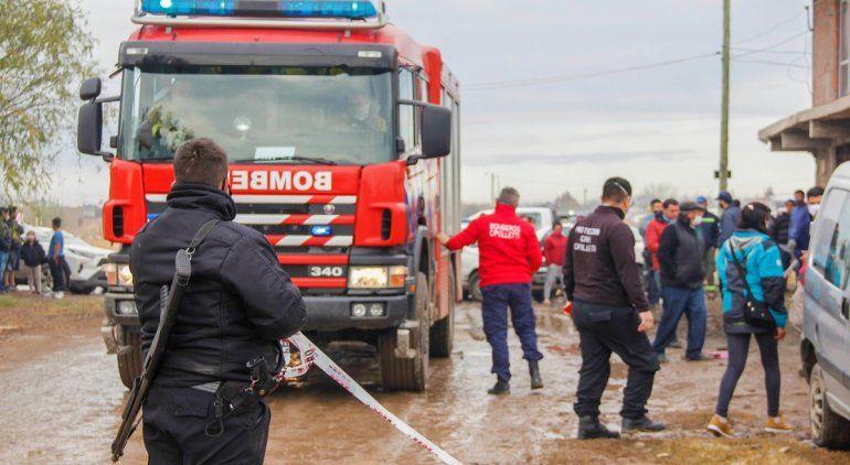Incendio fatal: trasladaron a los hermanitos al Hospital Garrahan