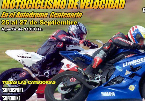 Motociclismo en Centenario