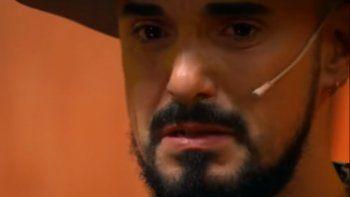 Abel Pintos mostró su lado más sensible y lloró al recordar a una amiga de la infancia ¡Video!