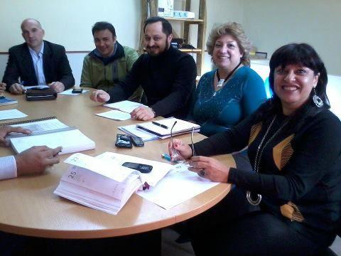 Costa se reunió con autoridades de Minería y Medio Ambiente