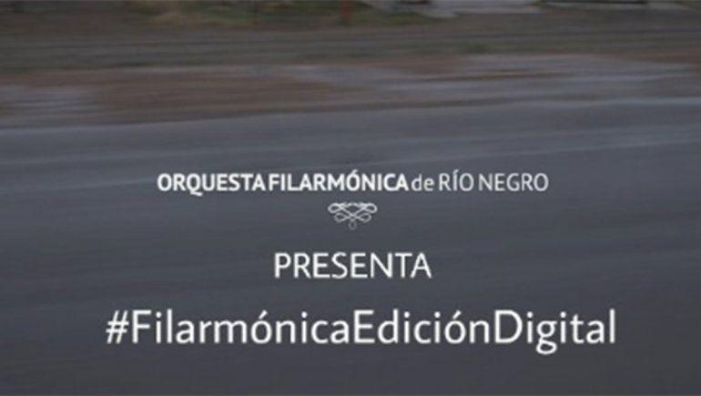 La Filarmónica de Río Negro se reinventa en la cuarentena