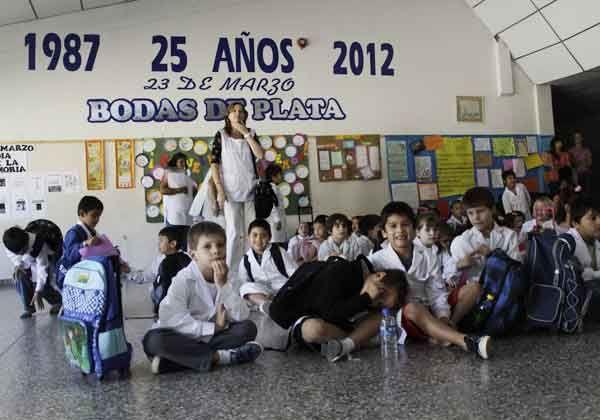 Festejó sus 25 años la Escuela 313