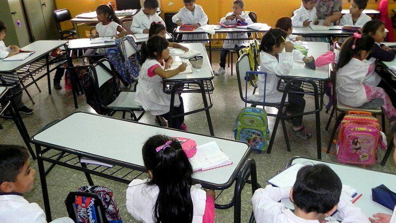 Para Unter, hay escuelas que no están en condiciones
