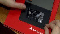 La estafa fue con una tarjeta Santander del Banco Río. Foto ilustrativa