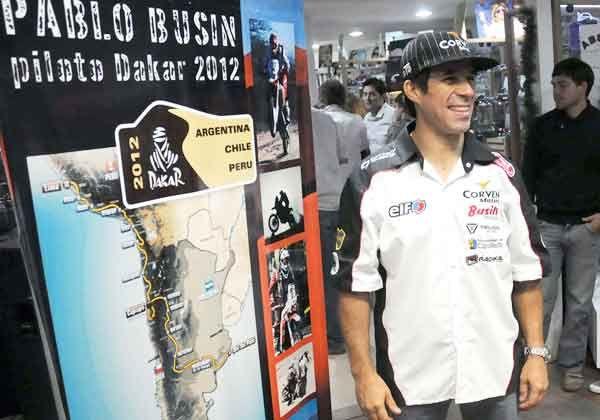 Busin parte hacia su tercer Dakar