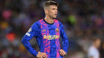 Memes y terrible confesión de Piqué por la paliza que sufrió el Barsa sin Messi