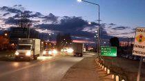 la muni cambio luminarias viales en los derivadores de ruta 22