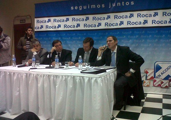 El gobernador Alberto Weretilneck ya se encuentra en Roca