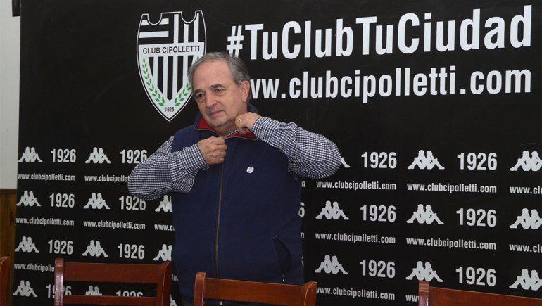 Cipo confirmó DT, continuidades y la vuelta de Lucas Mellado